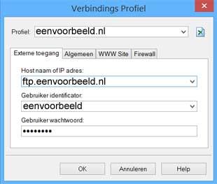 Webeasy externe toegang